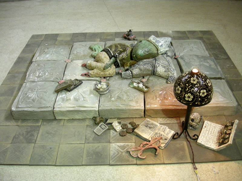 Het ontwaken van de muis, Lao Shu (The awakening of the mouse), installation view