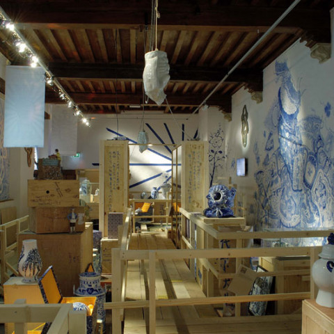 Delft-Jingdezhen: The Blue Revolution, 400 years Exchange