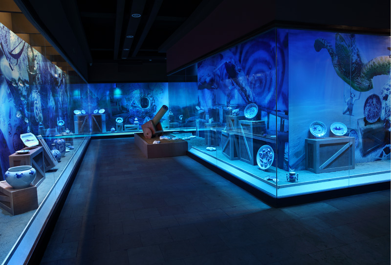 Blue revolution Dongguan, underwater room