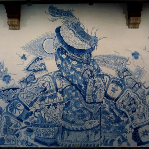 Drakenkeizer mural