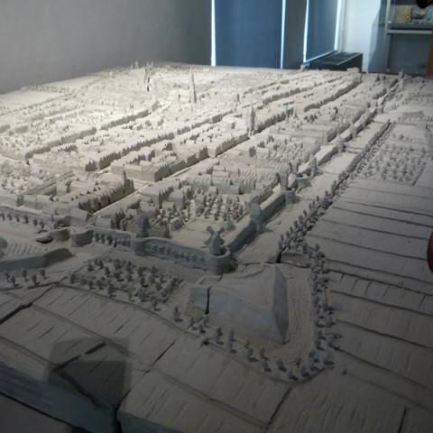 Delft maquette Anno Domini 1649