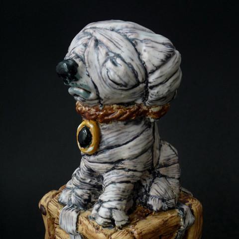 Mummy of a dog