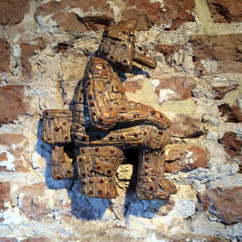 Woodman relief